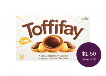Toffifay Chocolate for $1.50 After Coupon & Sale