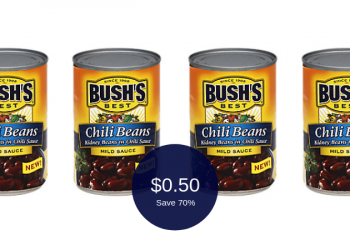 Bush's Best Chili Beans for as Low as $0.50 (Other Varieties $1.00)