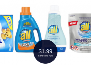 all & Snuggle Brand on Sale = $1.99 After Couponing