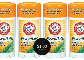 Save 67% on Arm & Hammer Deodorant, Only $1.00