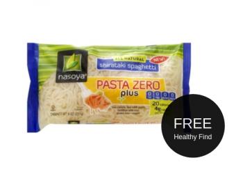 ? FREE nasoya Pasta Zero at Safeway ?