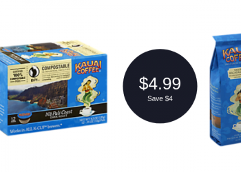 Kauai Coffee Coupon = $4.99 (Save $4)