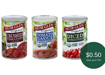 Muir Glen Tomatoes or Sauce for as Low as $0.50