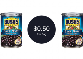 Bush's Checkout51 Cash Back Offer = Only $0.50 for Beans