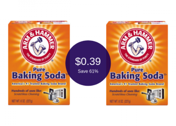 Arm & Hammer Baking Soda for $0.39 at Safeway