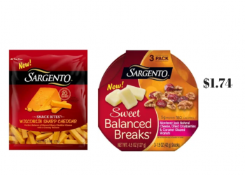 Sargento Snacks on Sale at Safeway – Pay Just $1.74, Save 53%