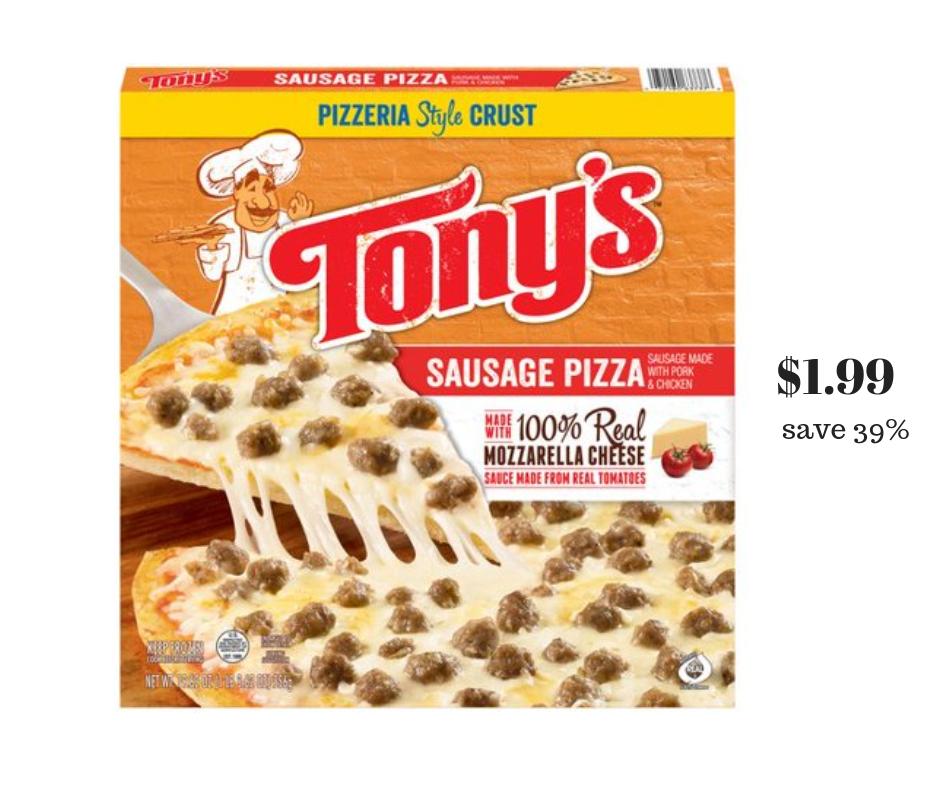 Tony's pizza sale safeway