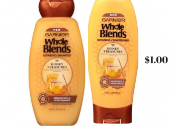 New Garnier Whole Blends and Fructis Coupons, Pay as low as $1.00