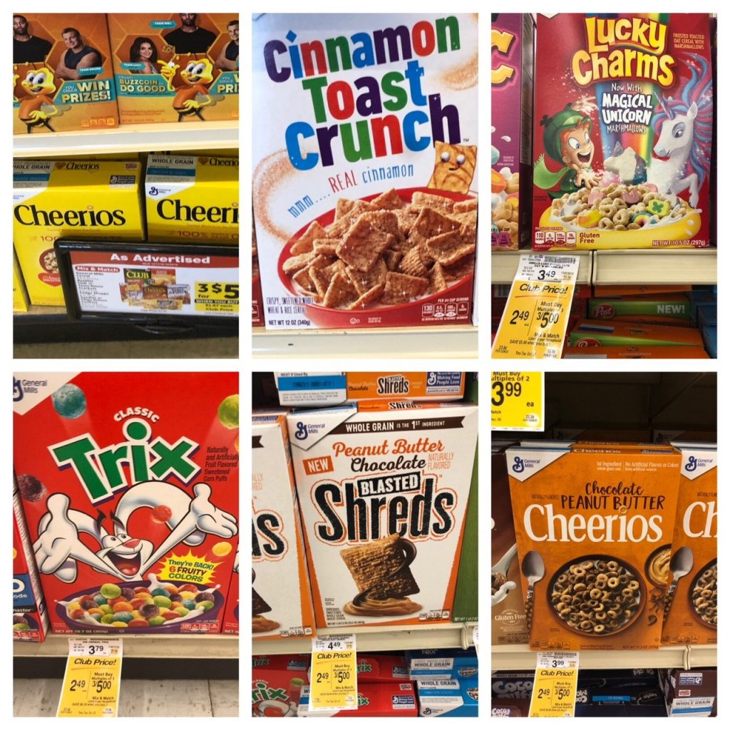 General Mills Cereals Sale And Coupons, Pay As Low As $1