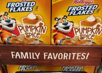 Kellogg's Frosted Flakes Pumpkin Spice and Special K Pumpkin Spice Cereals Coupon & Sale