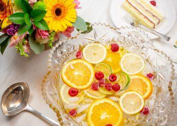 Mango Champagne Punch Recipe