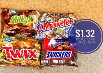 M&M's & Mars Fun Size Candy Bags Just $1.32 and 2 Free Soda 2 Liters at Safeway