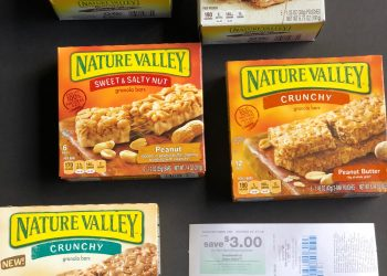 Nature Valley Granola Bars Just $.25 each Box after Catalina, Sale and Coupons