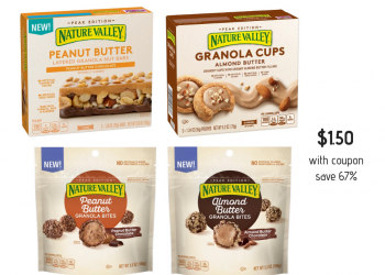 Nature Valley Layered Granola Nut Bars and Granola Cups and Bites Just $1.50 at Safeway