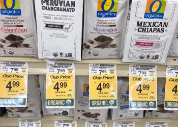 O Organics Coffee and Signature SELECT Coffee Just $3.99 With Coupons