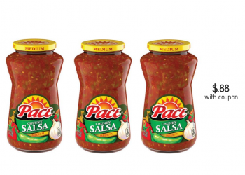 HOT!  New Pace Salsa Coupon and Sale, Pay Just $.88 at Safeway