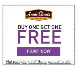 Annie Chun's Coupon