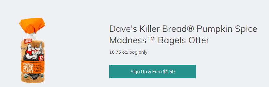 Dave's Killer Bread Pumpkin