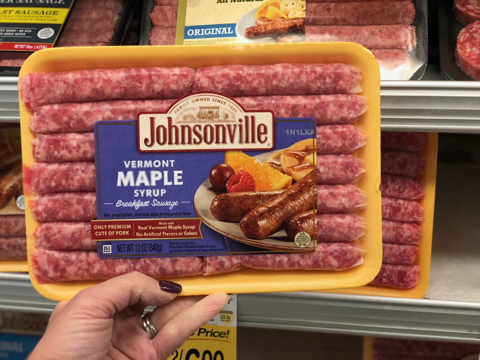 how to cook johnsonville sausage