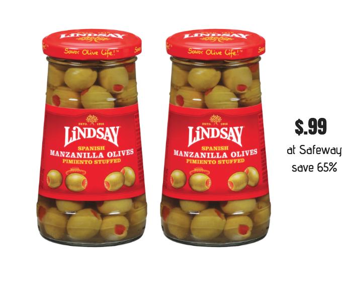 Lindsay Spanish Manzanilla Olives Sale