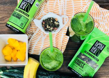 Slenderizing Mango Green Tea Smoothie