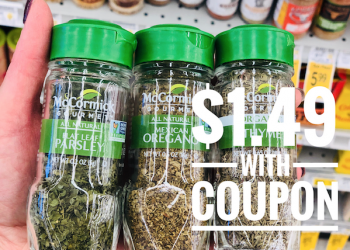 Get McCormick Gourmet Spices for as low as $1.49