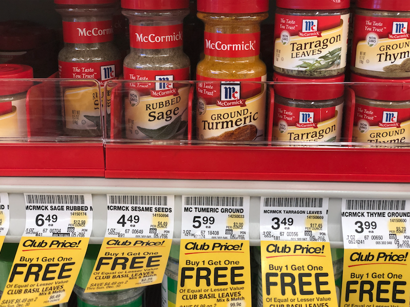 Get McCormick Gourmet Spices for as low as $1 49 - Super Safeway