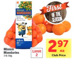 Minion Mandarins