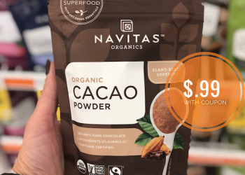 HOT Sale and Coupons on Navitas Organic Superfoods at Safeway – Get Cacao Powder for $.99 (Reg. $4.99)