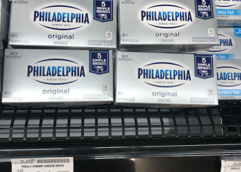 Philadelphia Cream Cheese Just $.75 after Sale and Coupon at Safeway