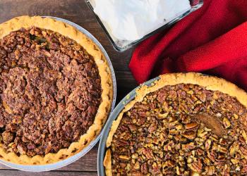 Pumpkin Pecan Pie Recipe – 2 Classic Pies in 1 Epic Fusion Pie