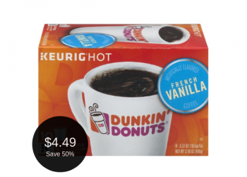Dunkin Donuts Coffee for $4.49 + 2x Game Time Rewards