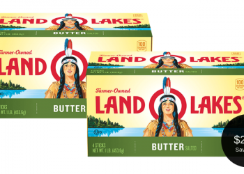 Land O Lakes Butter Coupon, Pay $2.49