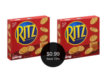 HOT Ritz Crackers Coupon = Only $0.99