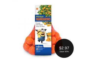 Minion Mandarins for $2.97 (3 Pounds)