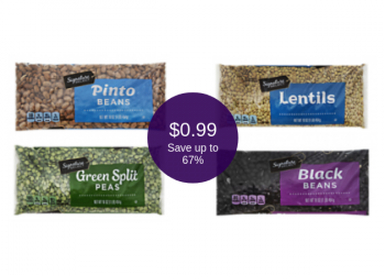 Signature SELECT Beans & Lentils on Sale for $0.99 (Save up to 67%)