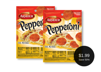 Armour Pepperoni for $1.99 – Grab and Go