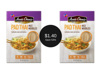 Annie Chun's Coupon = Pad Thai Noodles for $1.40