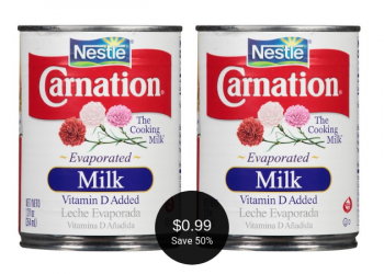 Carnation Evaporated Milk on Sale for $0.99 at Safeway