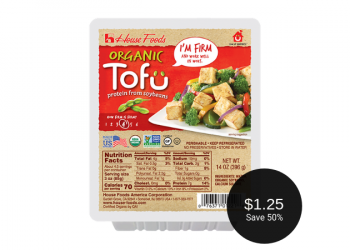 House Foods Tofu for $1.25 (Save 50%)