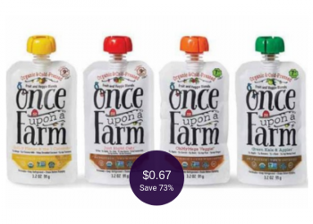 Once Upon a Farm Coupon = $0.67 Organic Baby Food at Safeway