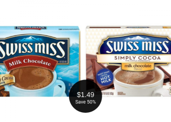 Swiss Miss for $1.49 (Save 50% at Safeway)