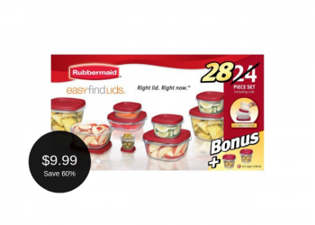 Rubbermaid Easy Find Lids – 28 Piece Set for $9.99 (Reg. $24.99)