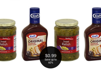 Kraft BBQ Sauce or Signature SELECT Relish $0.99 with Coupon at Safeway