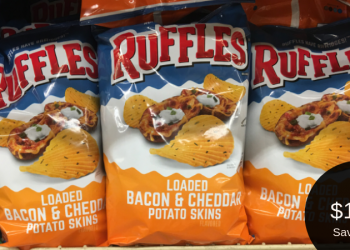 Ruffles Chips, Rold Gold Pretzels, & Doritos Tortilla Chips for $1.88