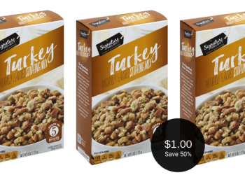 Signature SELECT Stuffing for $1.00 per Box at Safeway