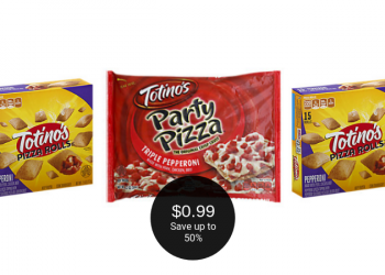 Totino's Party Pizza & Pizza Rolls $.99 Each at Safeway