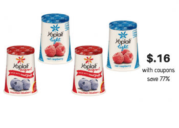 Yoplait Yogurt Coupon Stack at Safeway – Save up to 77%