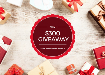 December Giveaway – Enter to Win $300 in Safeway Gift Cards