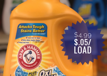 Get Arm & Hammer Detergent On Sale for Just $.05 per Load at Safeway!